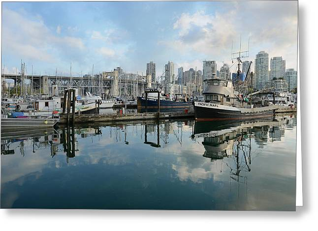 Vancouver Cityscape Greeting Card