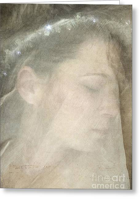 Veiled Princess Greeting Card