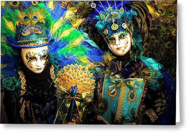 Venice Carnival I '17 Greeting Card