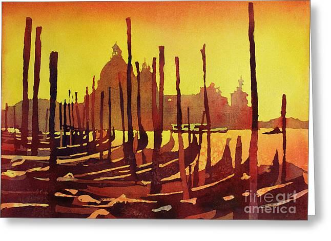 Venice Morning- Italy Greeting Card by Ryan Fox