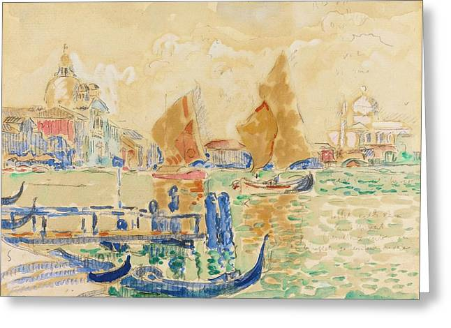 Venise Greeting Card by MotionAge Designs