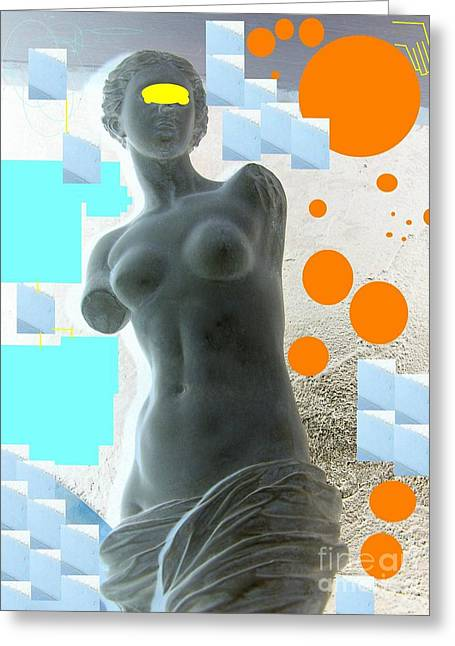Venus Greeting Card by Geraldine Liquidano