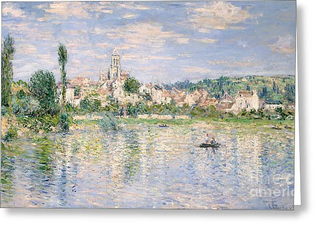 Vetheuil In Summer, 1880 Greeting Card by Claude Monet