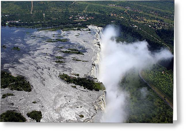 Victoria Falls Southern Africa Greeting Card