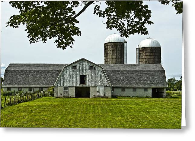 Vienna Barn 2 Greeting Card by Pat Carosone