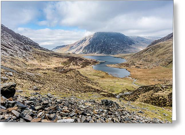 View From Glyder Fawr Greeting Card