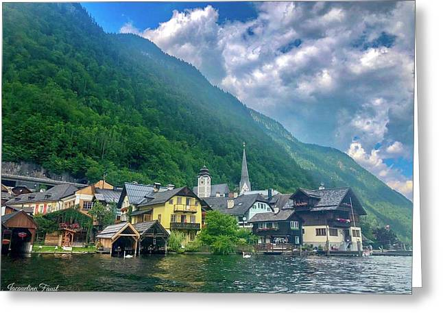 Village Hallstatt  Greeting Card