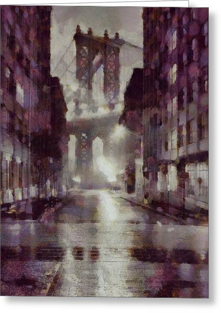 Vintage New York Greeting Card