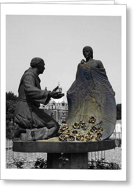Virgen De Guadalupe 2 Greeting Card