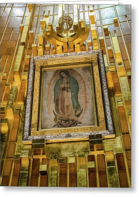 Virgen De Guadalupe Vii - Mexico Df Greeting Card
