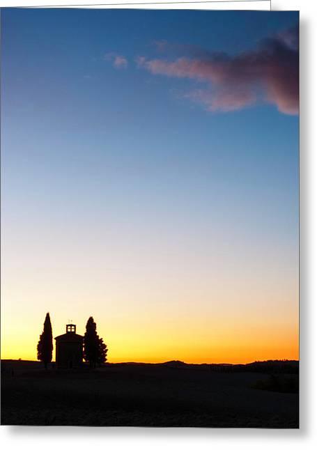Vitaleta Chapel Greeting Card
