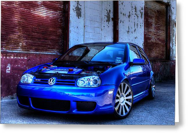 Volkswagen R32 Greeting Card