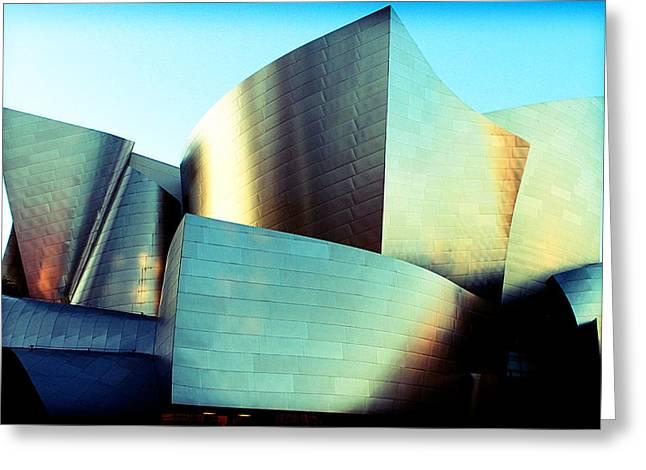 Walt Disney Concert Hall Greeting Card by Ariane Moshayedi