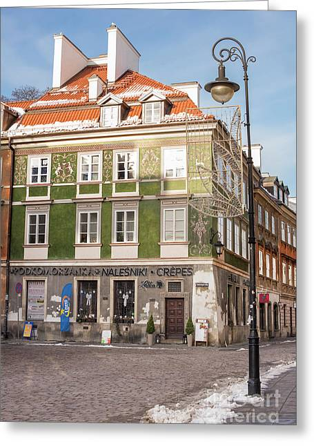 Greeting Card featuring the photograph Warsaw, Poland by Juli Scalzi