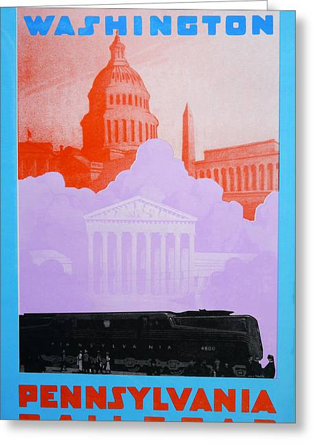 Washington Dc Vi Greeting Card