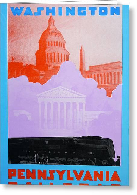 Washington Dc Vi Greeting Card by David Studwell