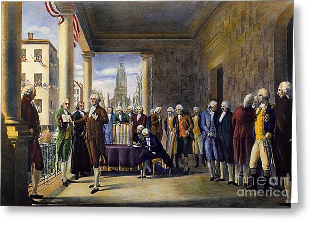 Washington: Inauguration Greeting Card
