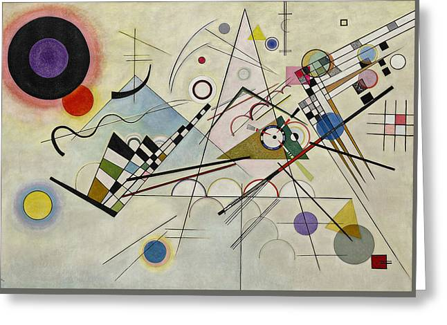Wassily Kandinsky Greeting Card