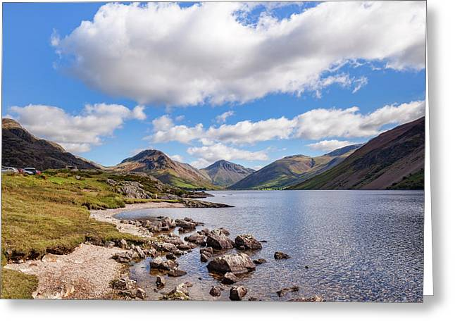 Wastwater Greeting Card by Colin and Linda McKie