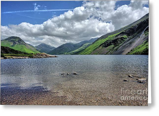 Wastwater Greeting Card by Nichola Denny