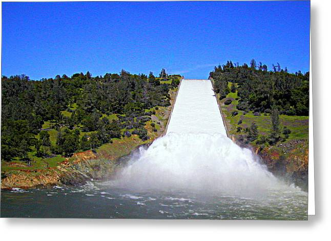 Greeting Card featuring the photograph Water by AJ Schibig
