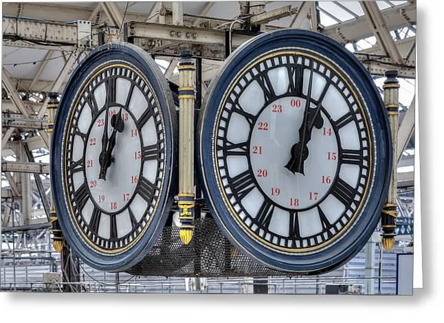 Waterloo Station - London Greeting Card