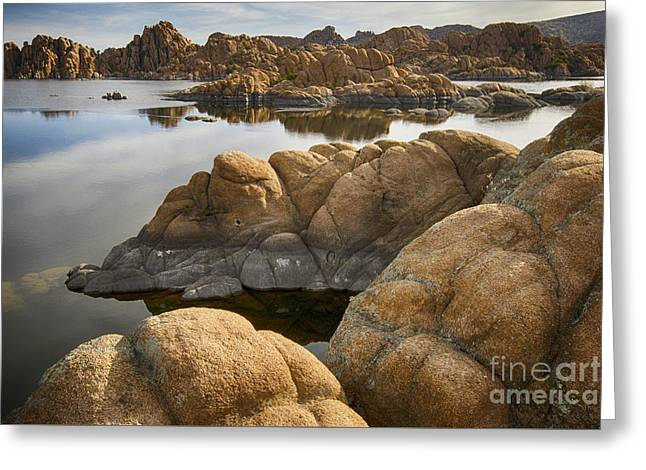 Watson Lake Arizona 13 Greeting Card