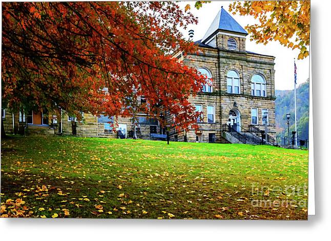 Webster County Courthouse Greeting Card by Thomas R Fletcher