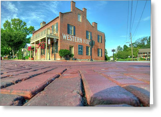 Western House Greeting Card