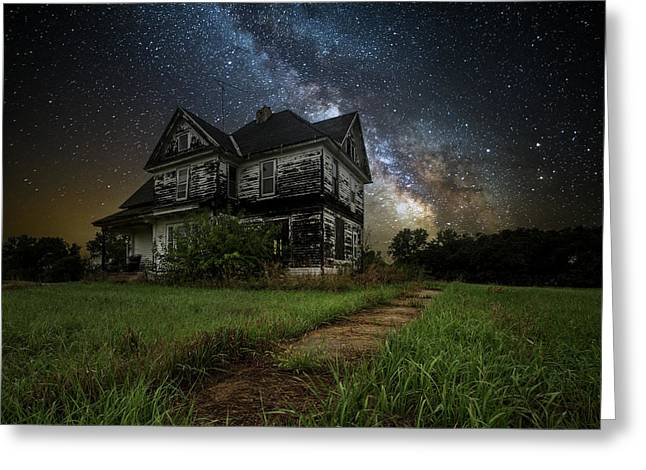 What Once Was Greeting Card by Aaron J Groen