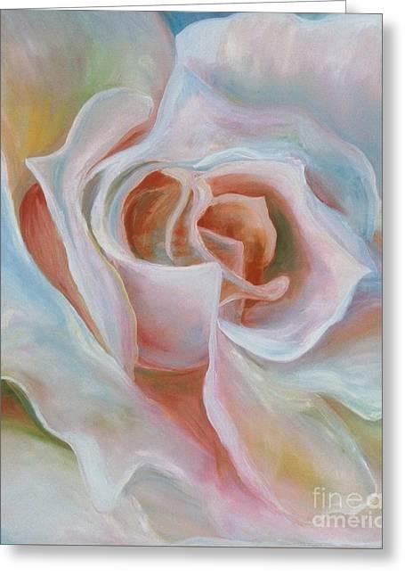 White Rose Greeting Card