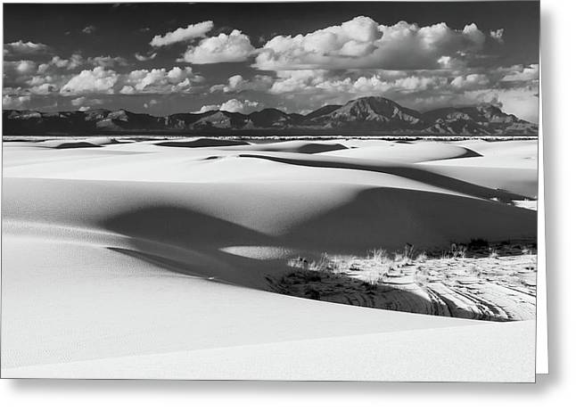 White Sands Afternoon Greeting Card