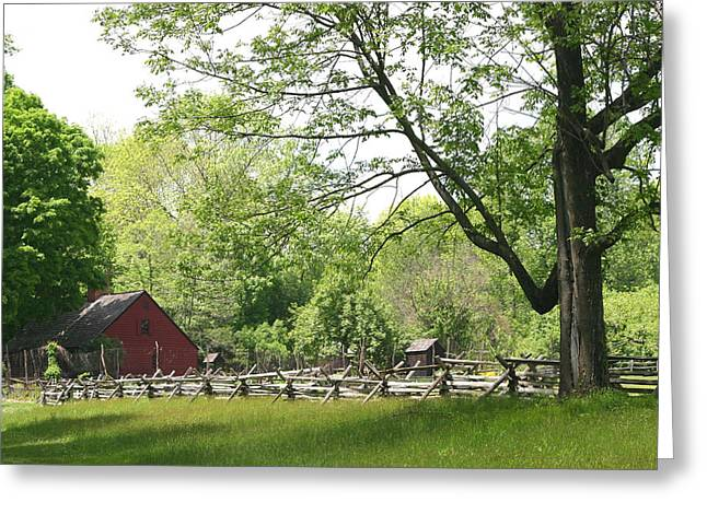 Wick Farm At Jockey Hollow Greeting Card