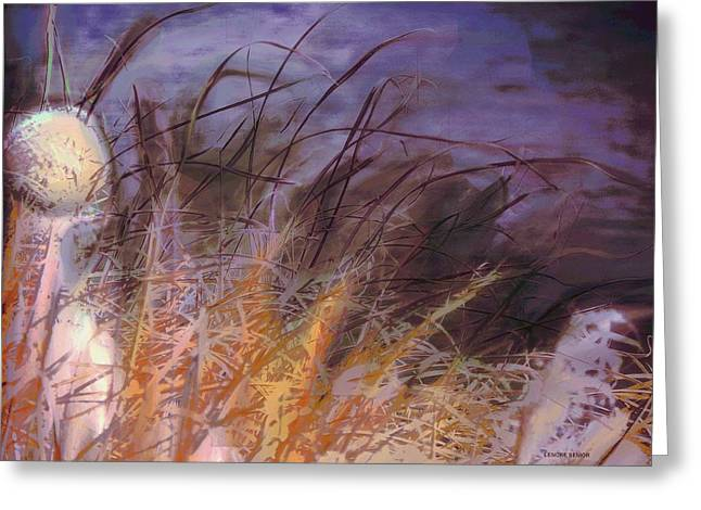Wild Grasses Greeting Card