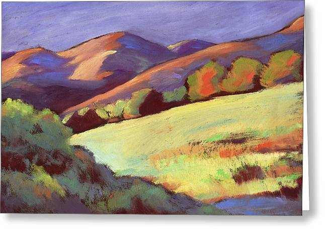 Wildcat Canyon Hillside Greeting Card