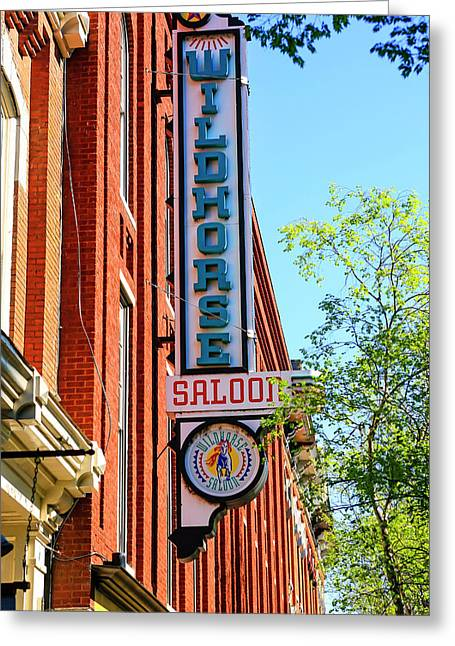 Wildhorse Saloon Nashville Greeting Card