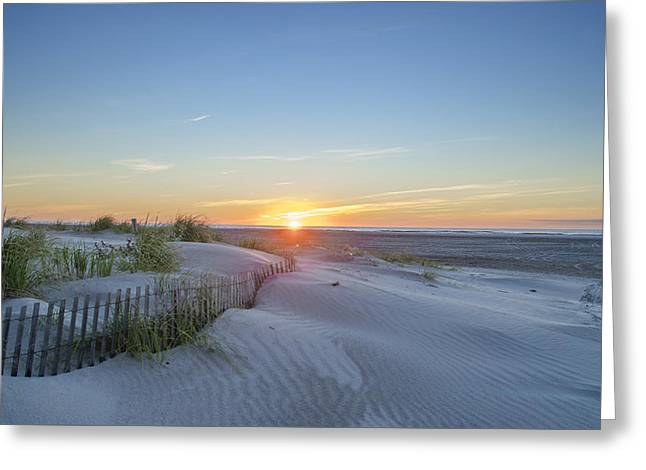 Wildwood Crest - Sunrise Greeting Card by Bill Cannon