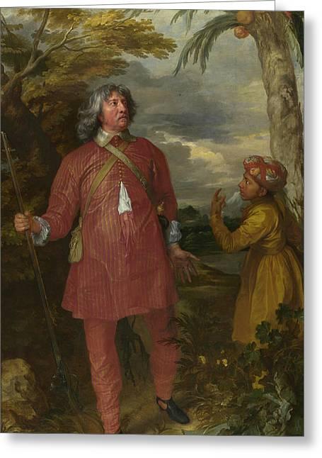 William Feilding, 1st Earl Of Denbigh Greeting Card