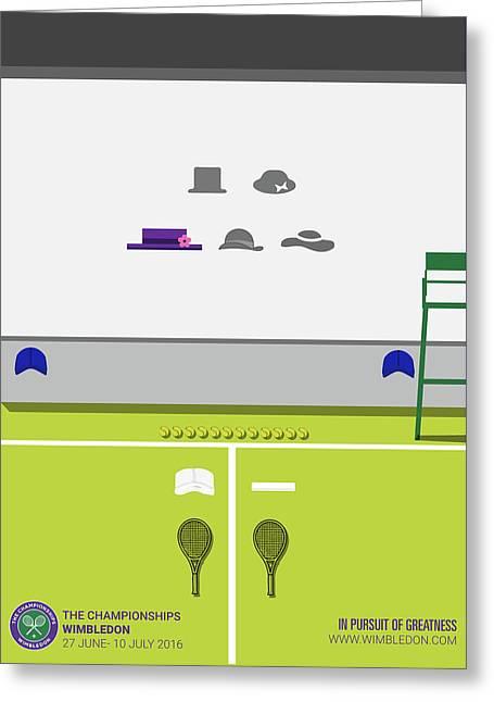 Wimbledon 2016 Greeting Card by Ansh Kumar