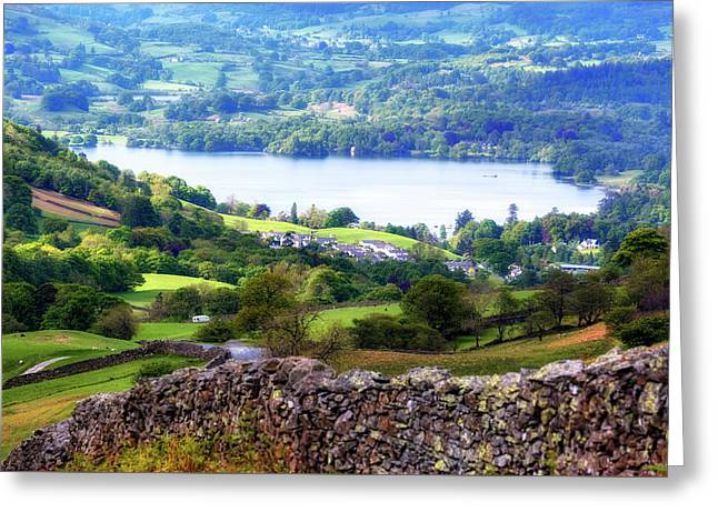 Windermere - Lake District Greeting Card by Joana Kruse