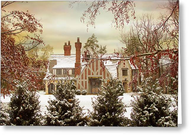 Winter Estate Greeting Card