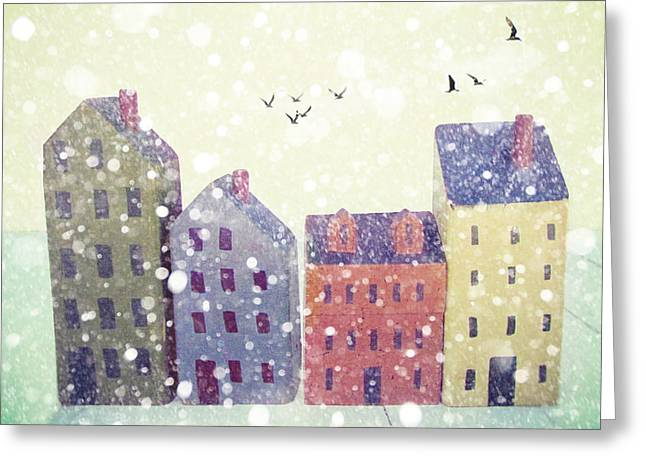 Winter In Nantucket Greeting Card