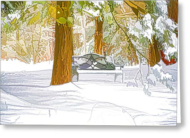 Winter Greeting Card by Lanjee Chee