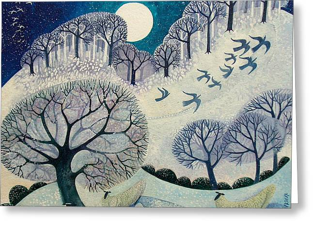 Winter Woolies Greeting Card