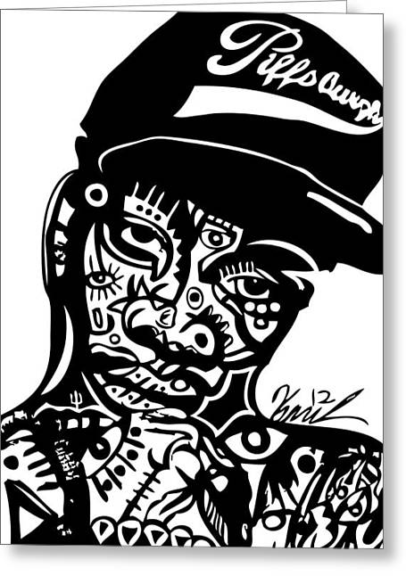 Wiz Khalifa Greeting Card by Kamoni Khem