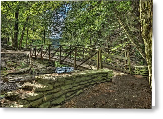 Wolf Creek @ Letchworth State Park Greeting Card