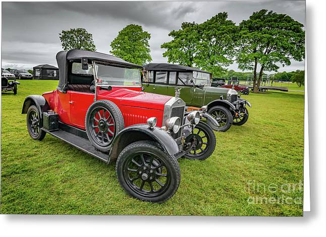 Wolseley Classic Car Greeting Card