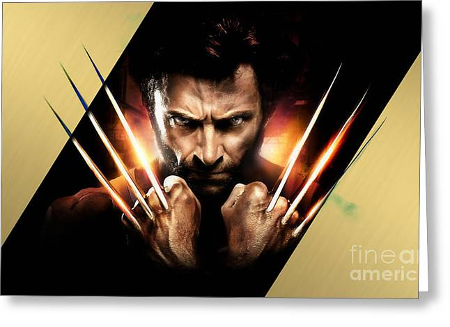 Wolverine Collection Greeting Card