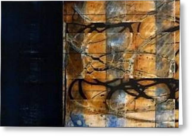 Wood Water Sand II Hs Greeting Card by Tia Marie McDermid
