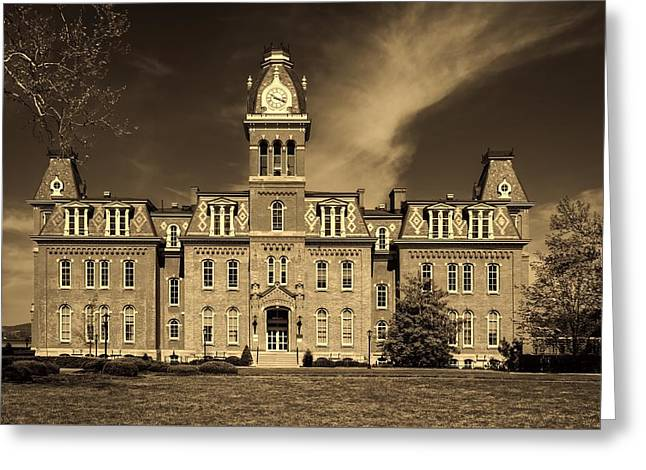 Woodburn Hall - West Virginia University Greeting Card